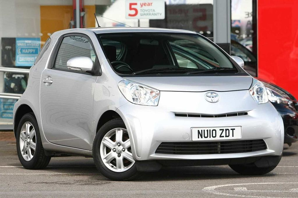 used toyota iq for sale from toyota plus. Black Bedroom Furniture Sets. Home Design Ideas