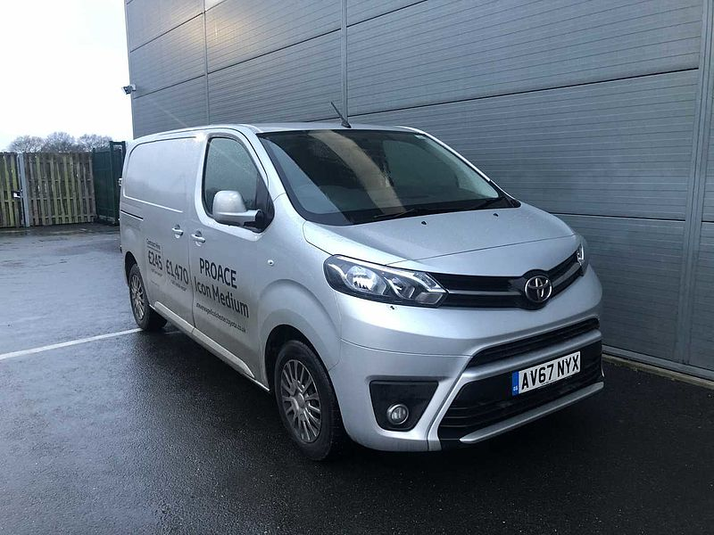 Toyota Proace 2.0HDi 120bhp Comfort Medium Panel Van